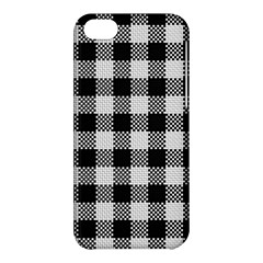 Plaid Pattern Apple Iphone 5c Hardshell Case by ValentinaDesign