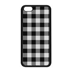 Plaid Pattern Apple Iphone 5c Seamless Case (black) by ValentinaDesign