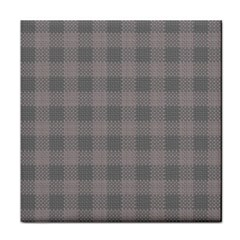 Plaid Pattern Face Towel by ValentinaDesign