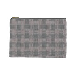 Plaid Pattern Cosmetic Bag (large)  by ValentinaDesign