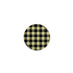 Plaid Pattern 1  Mini Buttons by ValentinaDesign