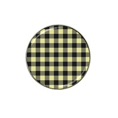 Plaid Pattern Hat Clip Ball Marker (4 Pack) by ValentinaDesign