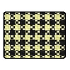 Plaid Pattern Fleece Blanket (small) by ValentinaDesign