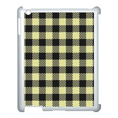 Plaid Pattern Apple Ipad 3/4 Case (white) by ValentinaDesign