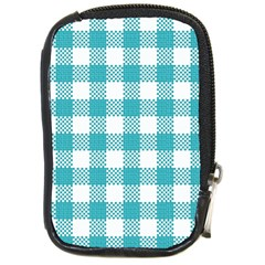 Plaid Pattern Compact Camera Cases by ValentinaDesign