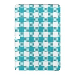 Plaid Pattern Samsung Galaxy Tab Pro 10 1 Hardshell Case by ValentinaDesign