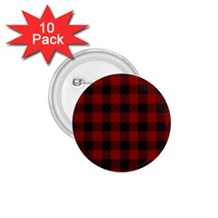 Plaid Pattern 1 75  Buttons (10 Pack) by ValentinaDesign