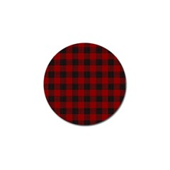 Plaid Pattern Golf Ball Marker (4 Pack) by ValentinaDesign
