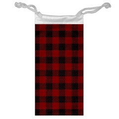 Plaid Pattern Jewelry Bag by ValentinaDesign