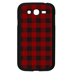Plaid Pattern Samsung Galaxy Grand Duos I9082 Case (black) by ValentinaDesign
