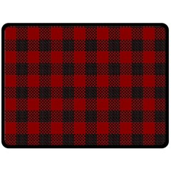 Plaid Pattern Double Sided Fleece Blanket (large)  by ValentinaDesign