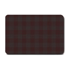 Plaid Pattern Small Doormat  by ValentinaDesign
