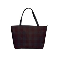 Plaid Pattern Shoulder Handbags by ValentinaDesign
