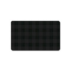 Plaid Pattern Magnet (name Card) by ValentinaDesign