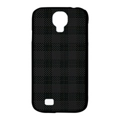 Plaid Pattern Samsung Galaxy S4 Classic Hardshell Case (pc+silicone) by ValentinaDesign