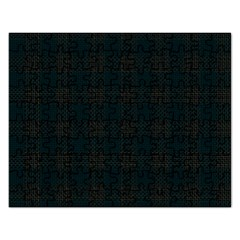 Plaid Pattern Rectangular Jigsaw Puzzl by ValentinaDesign