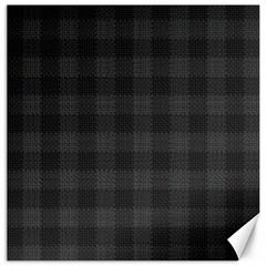 Plaid Pattern Canvas 16  X 16   by ValentinaDesign