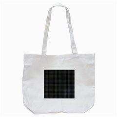 Plaid Pattern Tote Bag (white) by ValentinaDesign