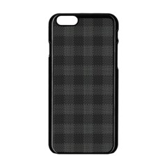 Plaid Pattern Apple Iphone 6/6s Black Enamel Case by ValentinaDesign