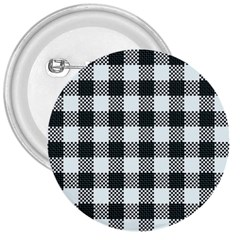 Plaid Pattern 3  Buttons by ValentinaDesign