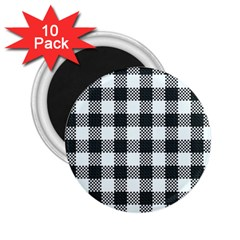 Plaid Pattern 2 25  Magnets (10 Pack)  by ValentinaDesign