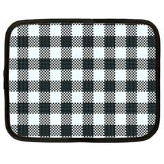Plaid Pattern Netbook Case (xxl)  by ValentinaDesign