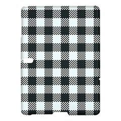 Plaid Pattern Samsung Galaxy Tab S (10 5 ) Hardshell Case  by ValentinaDesign