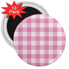 Plaid Pattern 3  Magnets (10 Pack)  by ValentinaDesign