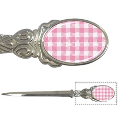 Plaid Pattern Letter Openers by ValentinaDesign