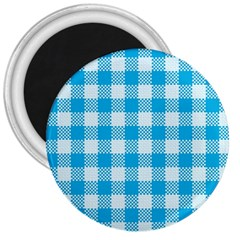 Plaid Pattern 3  Magnets by ValentinaDesign