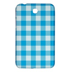 Plaid Pattern Samsung Galaxy Tab 3 (7 ) P3200 Hardshell Case  by ValentinaDesign