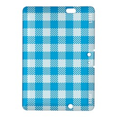 Plaid Pattern Kindle Fire Hdx 8 9  Hardshell Case by ValentinaDesign