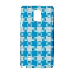 Plaid Pattern Samsung Galaxy Note 4 Hardshell Case by ValentinaDesign