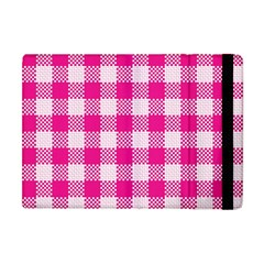 Plaid Pattern Apple Ipad Mini Flip Case by ValentinaDesign