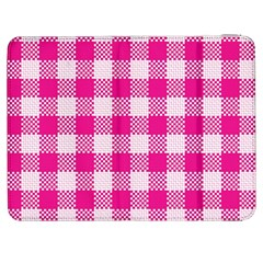 Plaid Pattern Samsung Galaxy Tab 7  P1000 Flip Case by ValentinaDesign