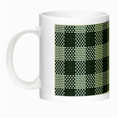 Plaid Pattern Night Luminous Mugs by ValentinaDesign