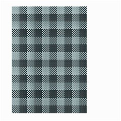 Plaid Pattern Large Garden Flag (two Sides) by ValentinaDesign