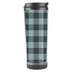 Plaid Pattern Travel Tumbler by ValentinaDesign