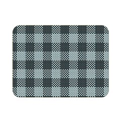 Plaid Pattern Double Sided Flano Blanket (mini)  by ValentinaDesign