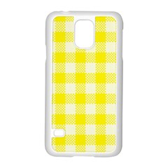 Plaid Pattern Samsung Galaxy S5 Case (white) by ValentinaDesign