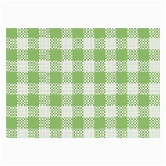 Plaid Pattern Large Glasses Cloth (2 Side) by ValentinaDesign