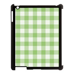 Plaid Pattern Apple Ipad 3/4 Case (black) by ValentinaDesign