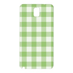 Plaid Pattern Samsung Galaxy Note 3 N9005 Hardshell Back Case by ValentinaDesign