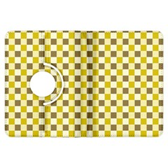 Plaid Pattern Kindle Fire Hdx Flip 360 Case by ValentinaDesign