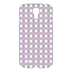 Plaid Pattern Samsung Galaxy S4 I9500/i9505 Hardshell Case by ValentinaDesign