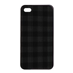 Plaid Pattern Apple Iphone 4/4s Seamless Case (black) by ValentinaDesign