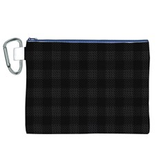 Plaid Pattern Canvas Cosmetic Bag (xl) by ValentinaDesign
