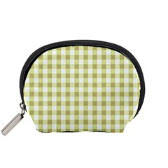 Plaid Pattern Accessory Pouches (small)  by ValentinaDesign