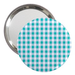 Plaid Pattern 3  Handbag Mirrors by ValentinaDesign