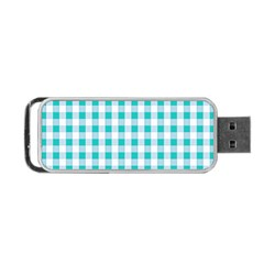 Plaid Pattern Portable Usb Flash (two Sides) by ValentinaDesign